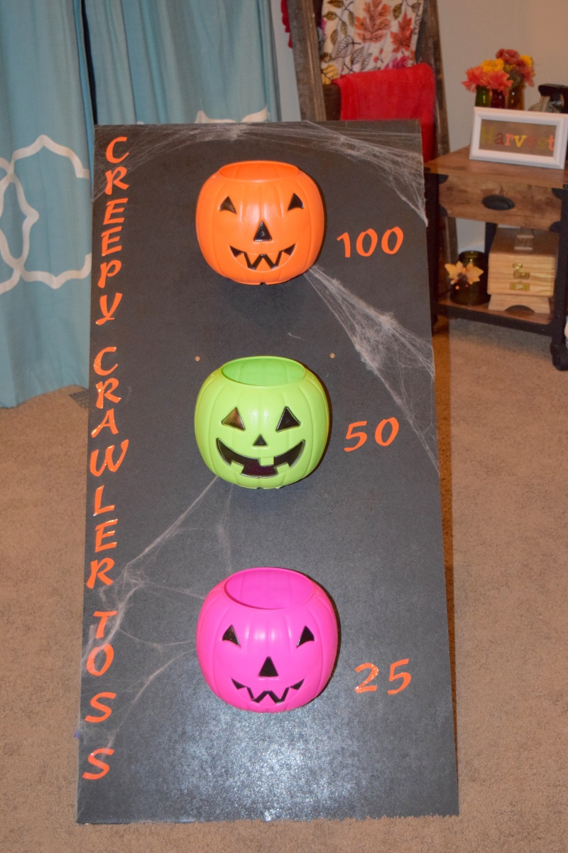 Creepy Crawler Toss Halloween Carnival Game Redhead Stepmom